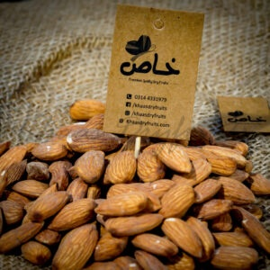 buy premium quality raosted badaam giri in Pakistan